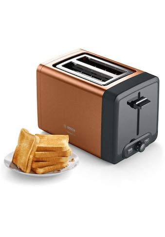 BOSCH Toaster »TAT4P429 DesignLine«, 2 kurze Schlitze, 970 W kaufen