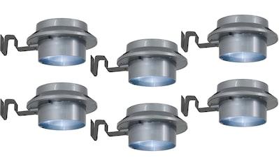 näve LED Dachrinnenleuchte »LED Solar Leuchten  -  6er Set« kaufen