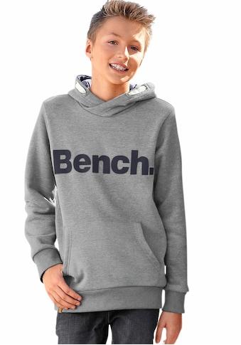 Bench. Kapuzensweatshirt, in melierter Optik kaufen
