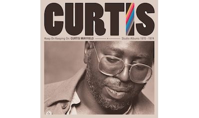 Musik-CD »Keep On Keepin' On:Curtis Mayfield Studio Albums / Mayfield,Curtis« kaufen