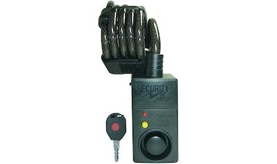 Security Plus Spiralschloss »SECURITY plus Fahrrad Alarmschloss mit Bewegungsmelder« kaufen