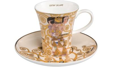 Goebel Espressotasse »Die Erwartung«, von Gustav Klimt kaufen