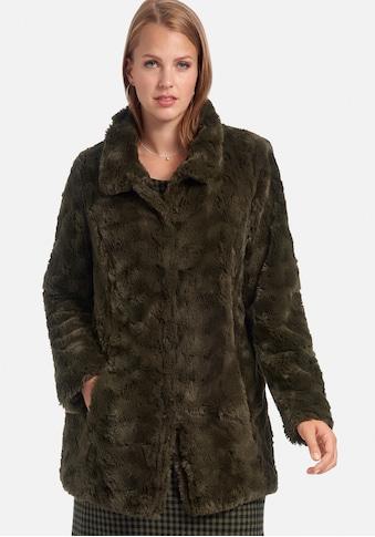 Anna Aura Outdoorjacke »Webpelz-Jacke«, mit Eingrifftaschen kaufen