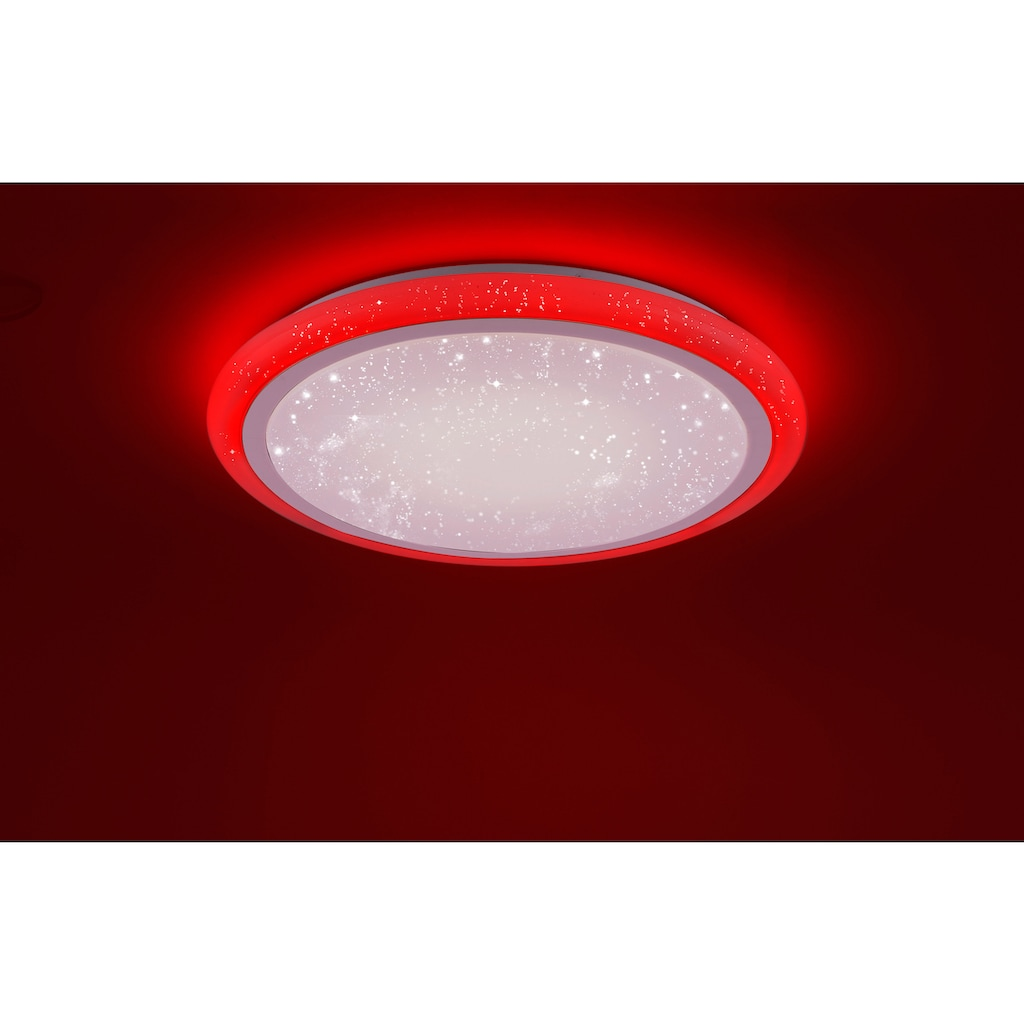 Leuchten Direkt LED Deckenleuchte »LUISA«, LED-Board-LED-Board, 1 St., Warmweiß-Neutralweiß-Kaltweiß-Farbwechsler, LED Deckenlampe