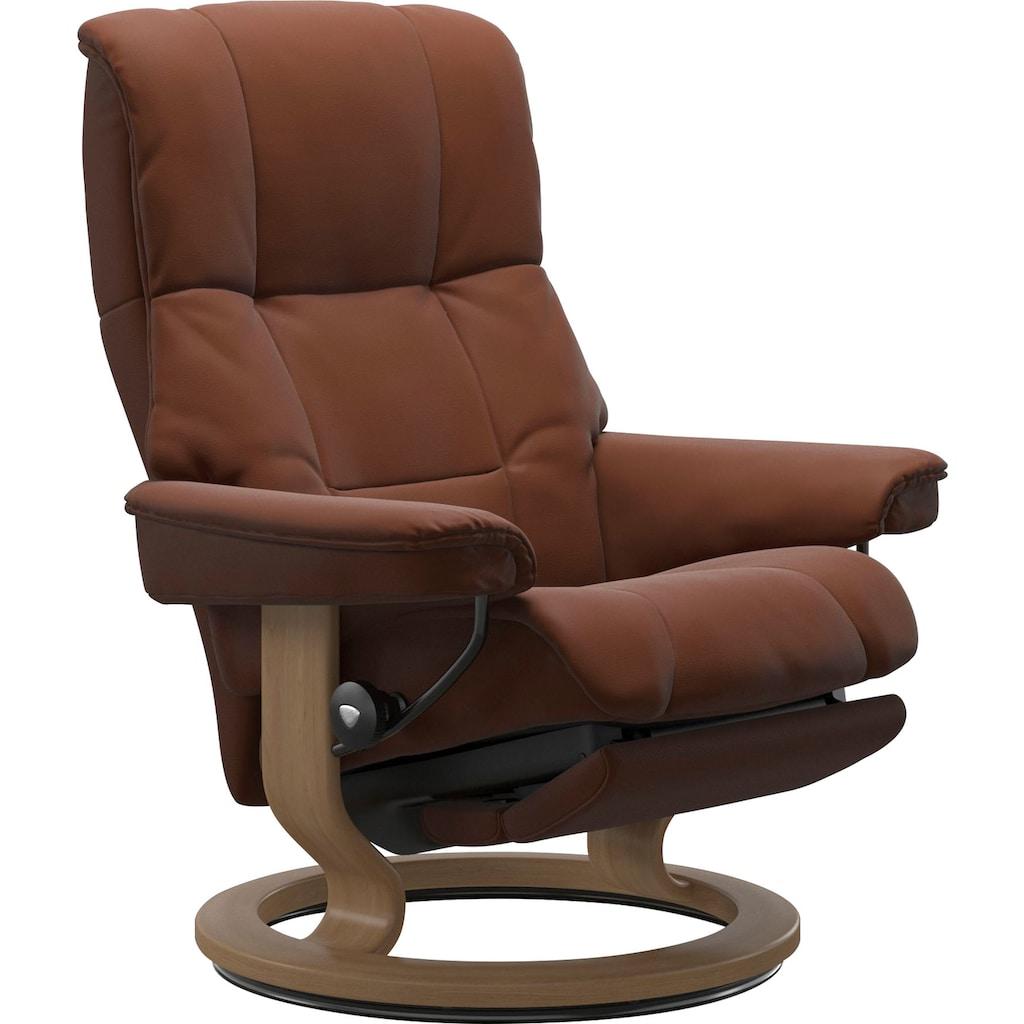 Stressless® Relaxsessel »Mayfair«, mit Classic Base und Power™, elektrisch verstellbar, optional 2-motorisch, Größe M & L, Gestell Eiche