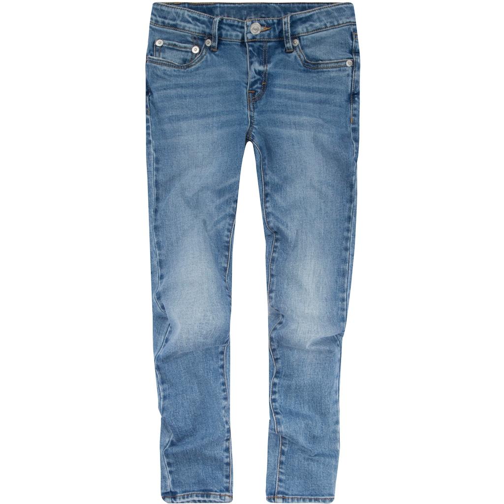 Levi's Kidswear Stretch-Jeans »710 SUPER SKINNY FIT JEANS«