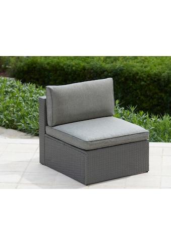 KONIFERA Loungesessel »Malta«, Polyrattan, inkl. Sitz- und Rückenpolster kaufen