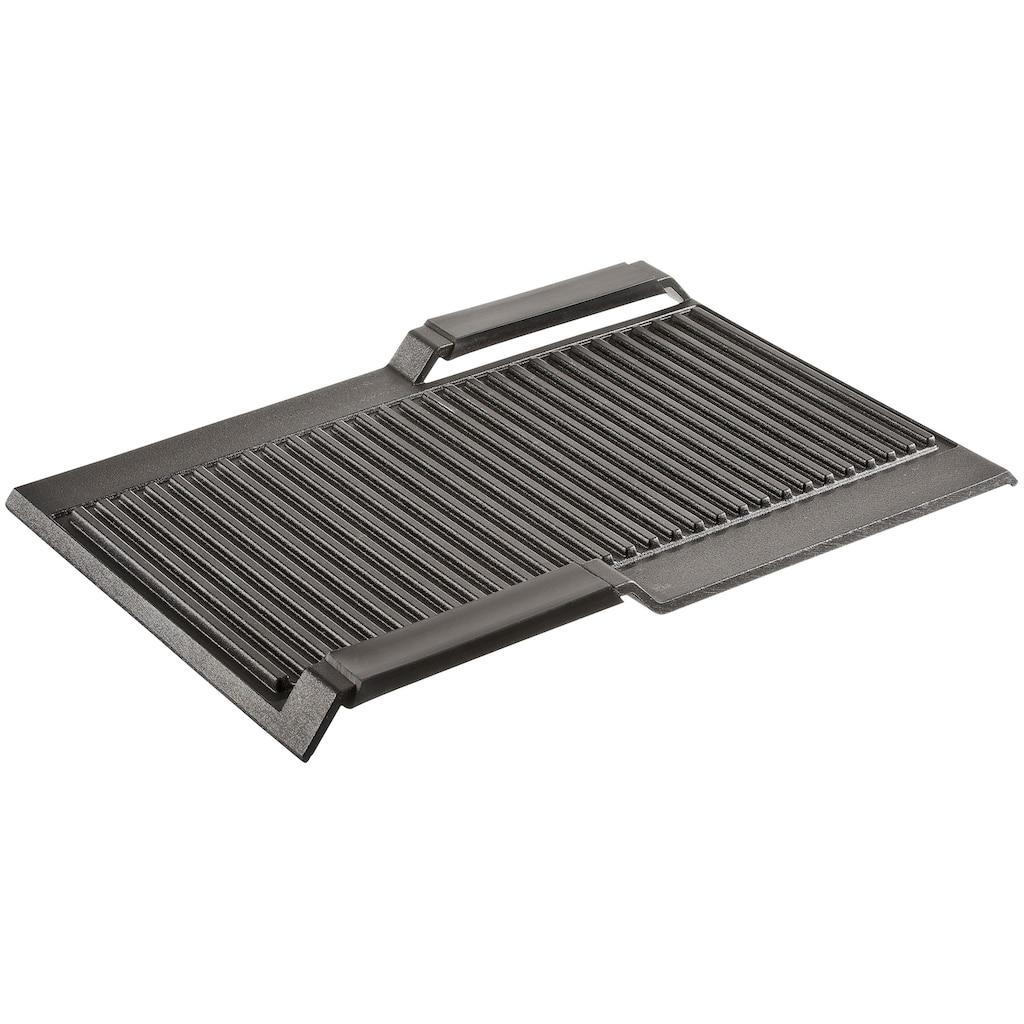 SIEMENS Grillplattenaufsatz »HZ390522«, Aluminium, varioInduktion