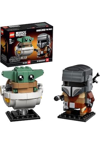 LEGO® Konstruktionsspielsteine »Der Mandalorianer™ und das Kind (75317), LEGO® Star... kaufen