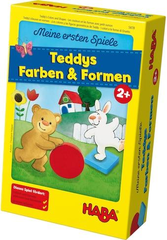 Haba Spiel »Meine ersten Spiele - Teddys Farben und Formen«, Made in Germany kaufen