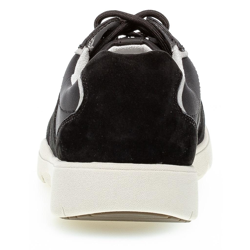 Pius Gabor Sneaker, mit Kontrast-Details