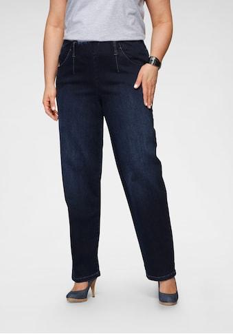 KjBRAND Gerade Jeans »Sally«, mit bequemem Bund kaufen