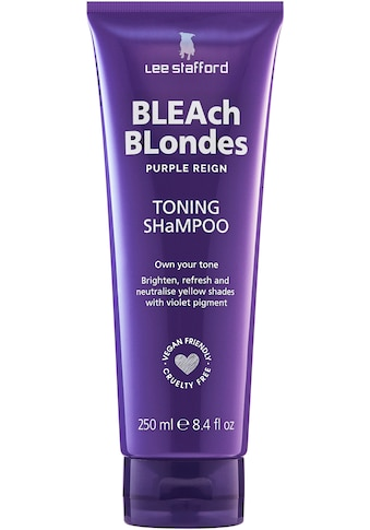 Lee Stafford Haarshampoo »Bleach Blonde Purple Reign Toning Shampoo« kaufen