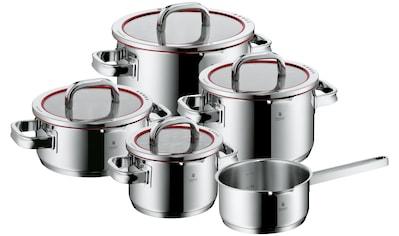 WMF Topf-Set »Function 4«, Cromargan® Edelstahl Rostfrei 18/10, (Set, 9 tlg.), Deckel... kaufen