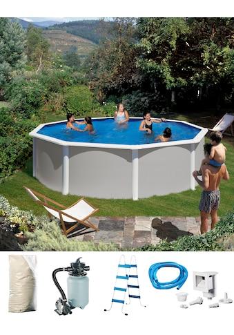 KONIFERA Rundpool »Malaga I«, (Set), 5-tlg., Höhe 120 cm, in versch. Größen kaufen