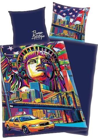 Jugendbettwäsche »New York«, mit New York Motiv kaufen