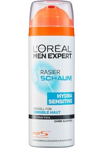 L'ORÉAL PARIS MEN EXPERT Rasierschaum »Hydra Sensitive«, pflegt sensible Haut während... kaufen
