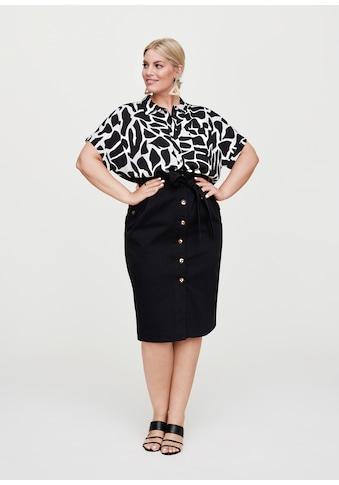 Rock Your Curves by Angelina K. Klassische Bluse, im Resort-Style kaufen
