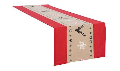 my home Tischdecke »Xaver«, (1 St.), Weihnachtsdeko kaufen