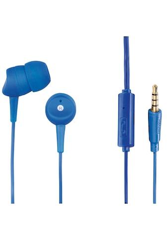 "Hama Kopfhörer ""Basic4Phone"", In-Ear, Mikrofon, Kabelknicks kaufen"