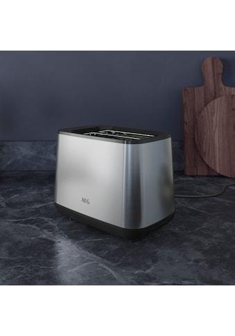AEG Toaster »T3 - 1 - 3ST Deli 3«, 980 Watt kaufen