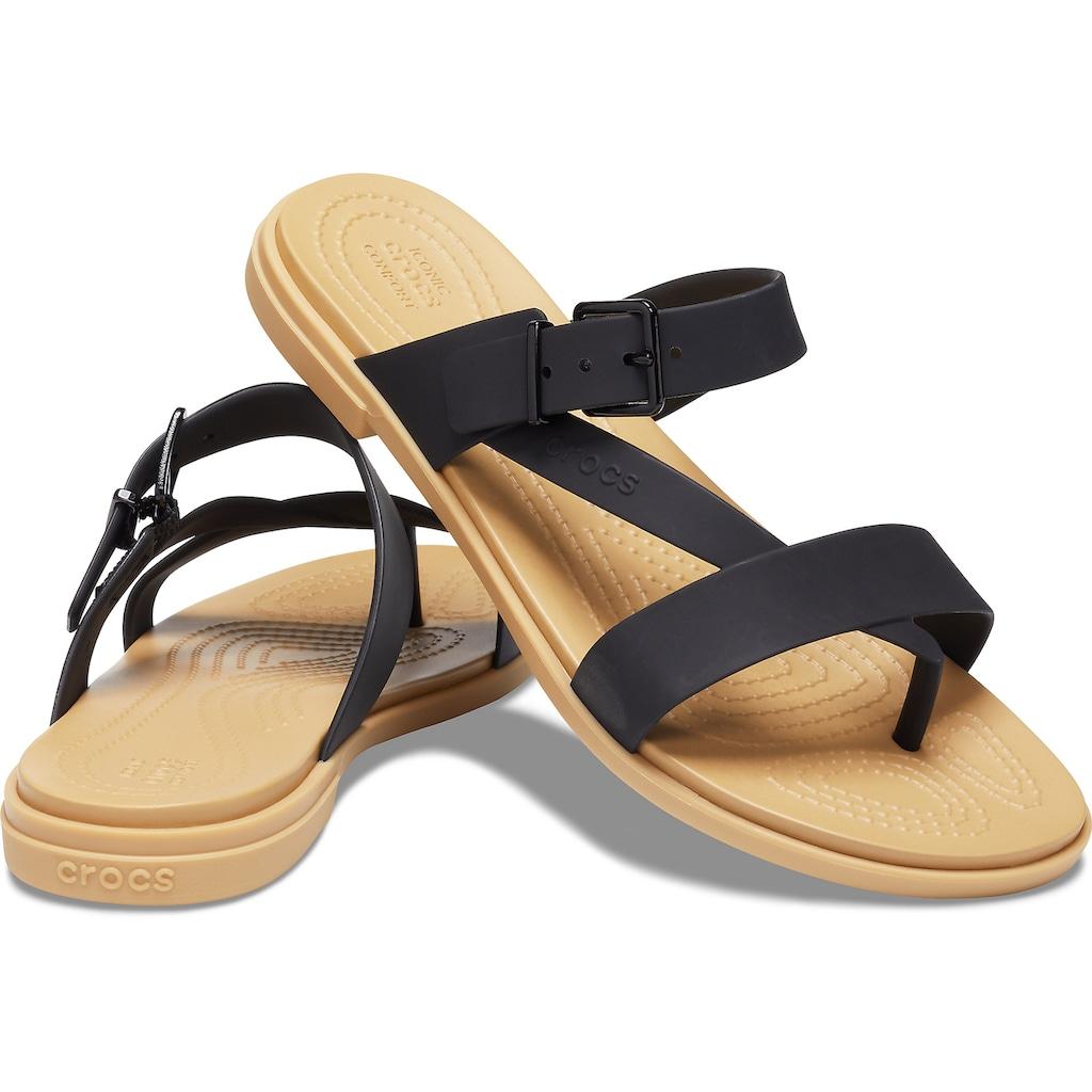 Crocs Zehentrenner »Tulum Toe Post Sandal«, mit regulierbarem Riemchen