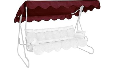 Angerer Freizeitmöbel Hollywoodschaukelersatzdach, (B/T): ca. 210x145 cm kaufen