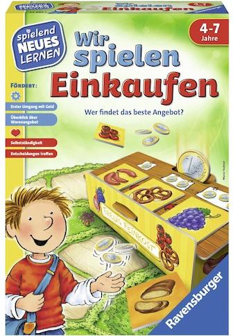 Ravensburger Spiel »Wir spielen Einkaufen«, Made in Europe, FSC® - schützt Wald -... kaufen