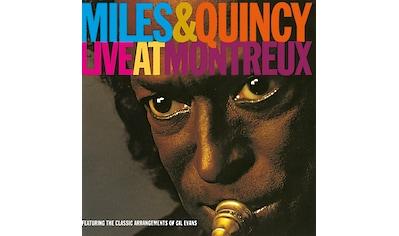 Musik-CD »Live At Montreux Festival / Davis,Miles & Jones,Quincy« kaufen