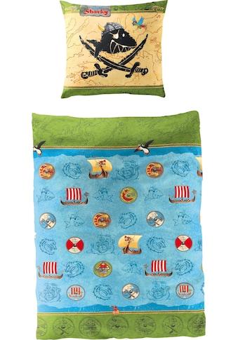Kinderbettwäsche »Wikinger«, Capt`n Sharky kaufen