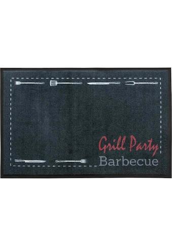Primaflor-Ideen in Textil Fußmatte »BBQ Party«, rechteckig, 5 mm Höhe,... kaufen