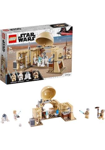 LEGO® Konstruktionsspielsteine »Obi-Wans Hütte (75270), LEGO® Star Wars™«, (200 St.),... kaufen