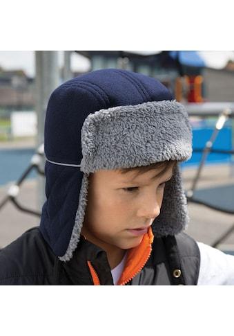 Result Ohrenmütze »Kinder Winter Essentials Ocean Trapper Mütze« kaufen