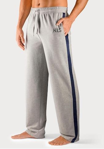 H.I.S Sweathose, mit Streifenband an den Beinaußenseiten kaufen