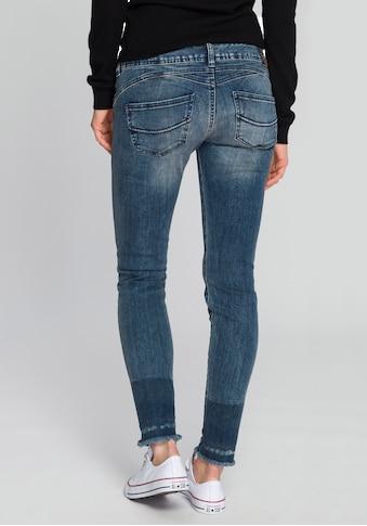 Herrlicher Slim-fit-Jeans »GILA SLIM CROPPED«, Powerstretch mit seitlichem Keileinsatz kaufen