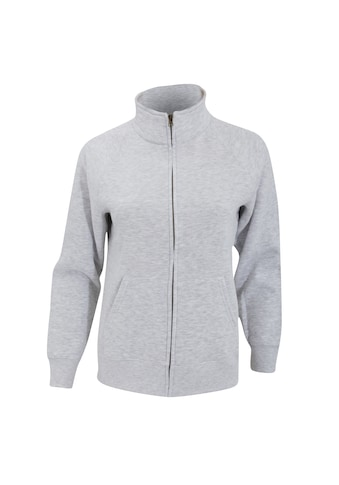 Fruit of the Loom Fleecejacke »Damen Lady - Fit Fleece - Sweatshirt - Jacke« kaufen