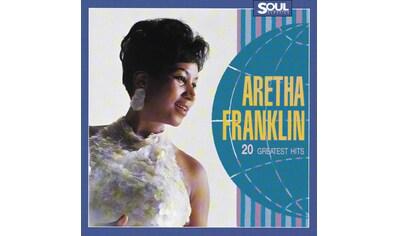 Musik-CD »20 Greatest Hits / Franklin,Aretha (Soul Class.)« kaufen