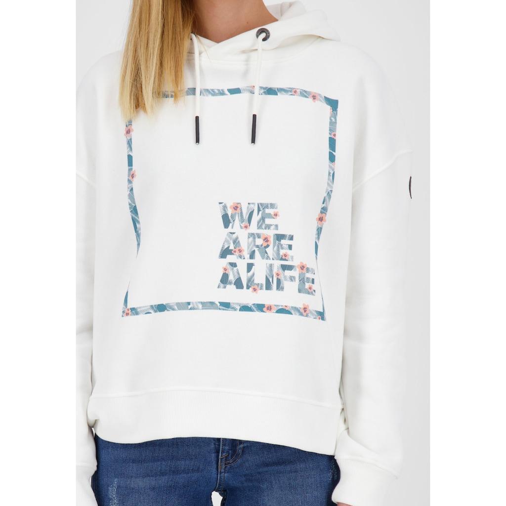 Alife & Kickin Sweatshirt »JessyAK«, Sportiver Hoodie in coolem Design