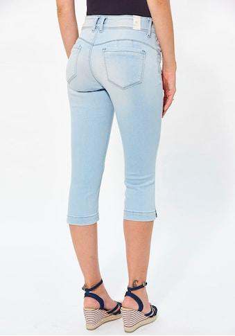 Kaporal Caprijeans »FLUOE«, mit leichtem Schlitz am seitlichen Bein kaufen