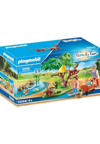 Playmobil® Konstruktions-Spielset »Kleine Pandas im Freigehege (70344), Family Fun«, ;... kaufen