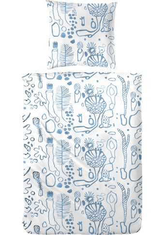 Primera Bettwäsche »Under water love«, mit abstrakter Meeres Optik kaufen