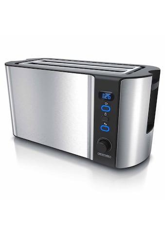 Arendo 4-Scheiben-Langschlitz-Toaster 1500 W mit Display kaufen