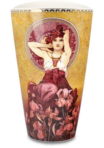 """Goebel Tischvase »Vase Alphonse Mucha - """"Amethyst""""«, aus Porzellan, Höhe ca. 24 cm kaufen"""