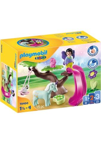 Playmobil® Konstruktions-Spielset »Feenspielplatz (70400), Playmobil 1-2-3«, Made in... kaufen