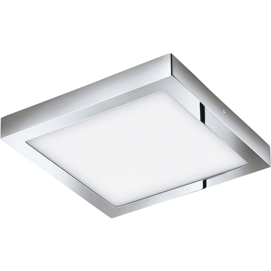 EGLO Aufbauleuchte »FUEVA-C«, LED-Board, Warmweiß-Tageslichtweiß-Neutralweiß-Kaltweiß, EGLO CONNECT, Steuerung über APP + Fernbedienung, BLE, CCT, RGB
