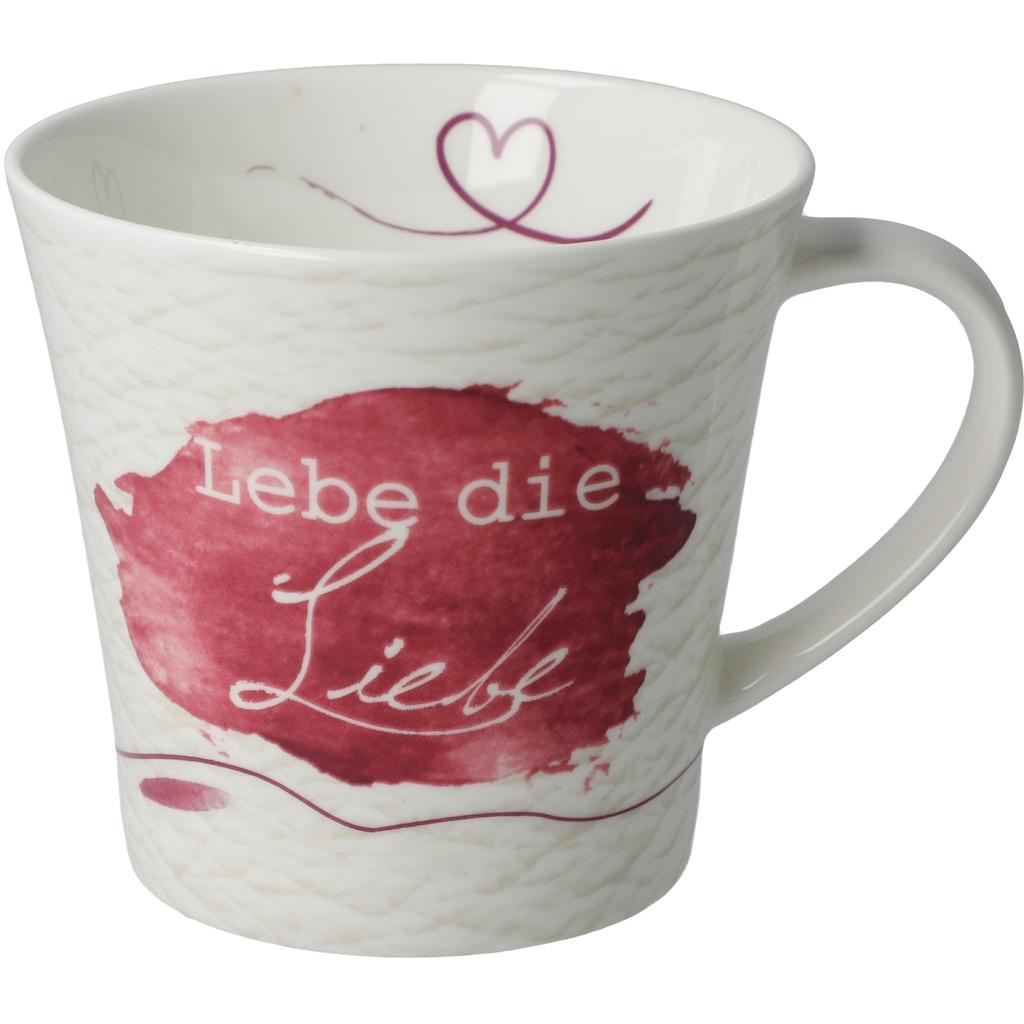 Goebel Becher »Lebe die Liebe«