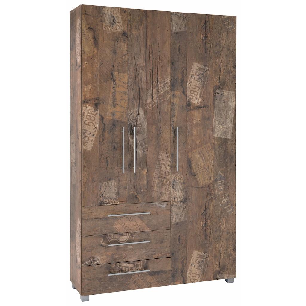 Schildmeyer Garderobenschrank »Danu«, mit 3 Schubkästen und 3 Türen