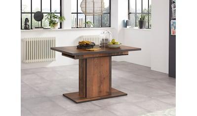 HELA Esstisch »Ariana«, durch innenliegende Einlegeplatten ausziehbar 120-160 cm kaufen