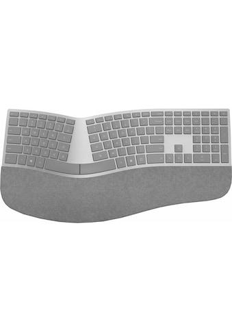 Microsoft ergonomische Tastatur »Surface«, (Handgelenkauflage-ergonomische Form),... kaufen