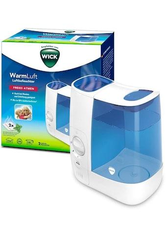 WICK Luftbefeuchter »WH845 Warmluft-Befeuchter«, 3,8 l Wassertank, bis zu 99 % bakterienfreie Feuchtigkeit kaufen